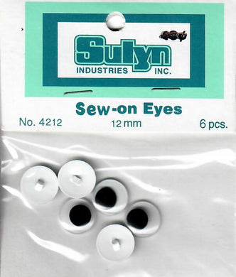 Sew-on eyes