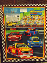 Load image into Gallery viewer, Race Car Quilt