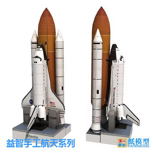 'Atlantis Space Shuttle' Cardboard and Paper Model Construction Build Kit