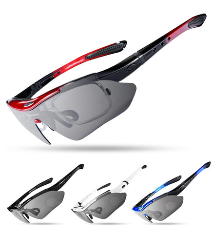 Polarized Cycling Glasses 5 Lens(29g)