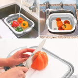 Collapsible Vegetable Basket Chopping Board