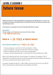 [E-book] TalkToMeInKorean Level 2 lessons (TTMIK Grammar E-books)