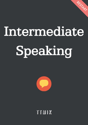 Intermediate Speaking (Vocabulary + Drama Phrases)