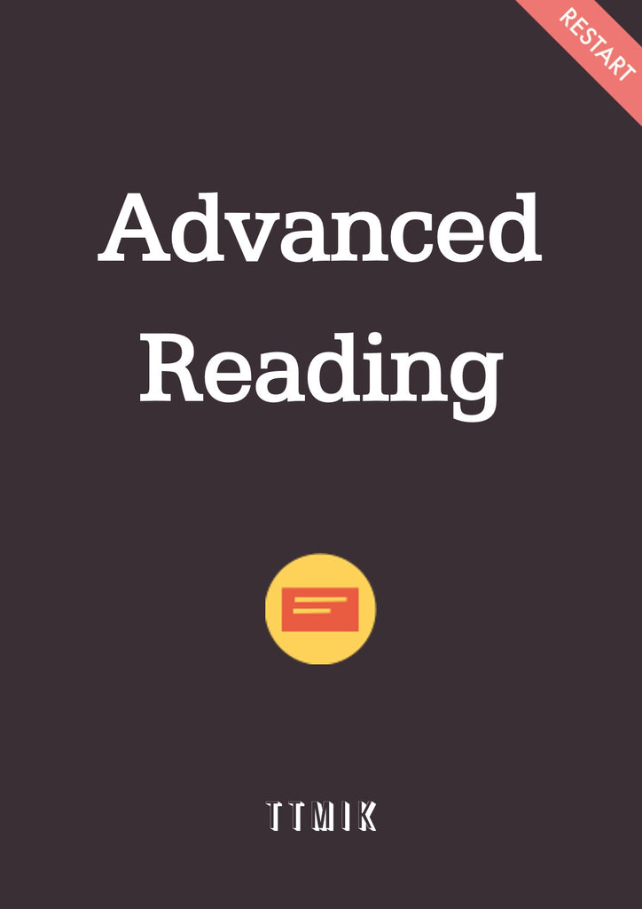 Advanced Reading (News + Story Time)