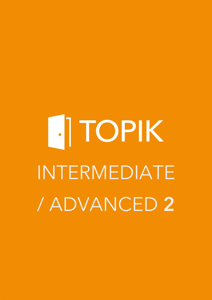 TOPIK Level 2 Test Book - Intermediate & Advanced Level (Book 2)
