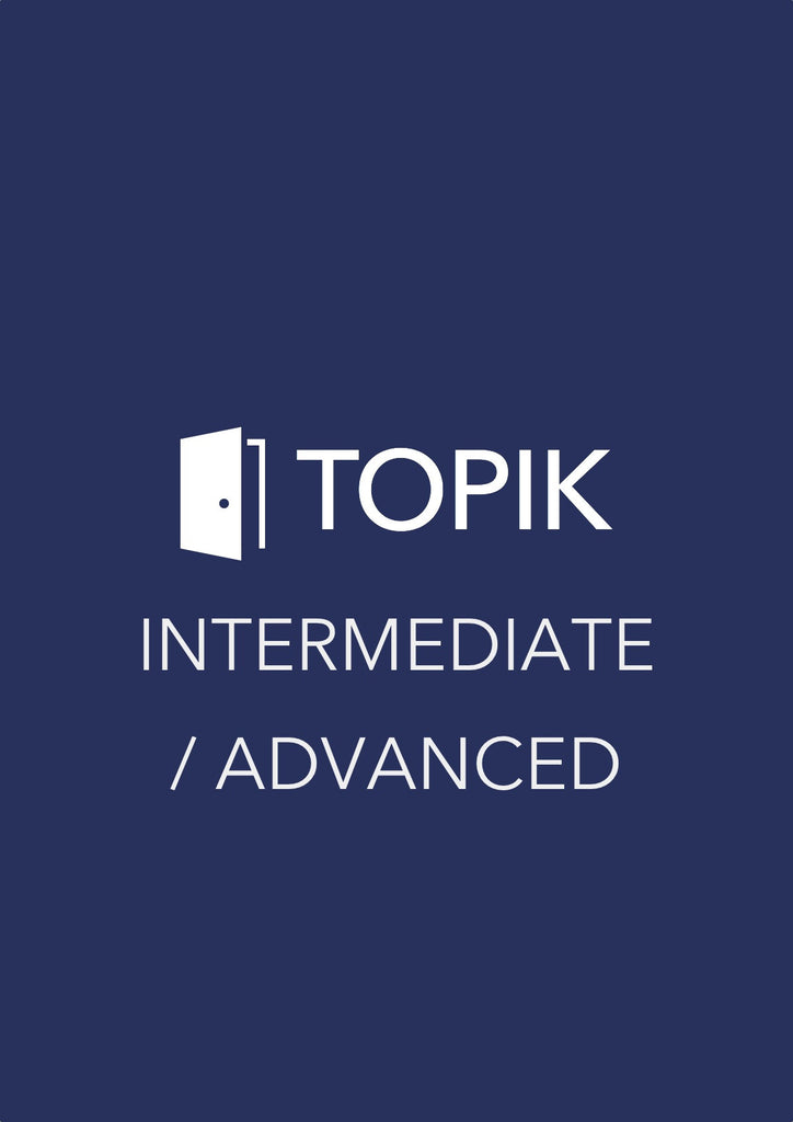 TOPIK Level 2 Test Book - Intermediate & Advanced Level (Book 1)