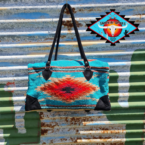 Southwestern 'GO WEST' and BEYOND  Overnight Bag