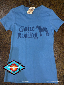 Original Cowgirl Co 'gone riding' ladies top!
