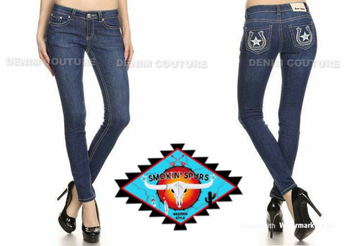 Denim Couture skinny leg jeans
