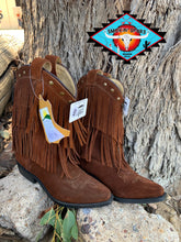 Load image into Gallery viewer, Smoky Mountain leather boot 'BELLE'  youth  4-7