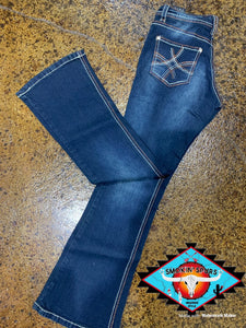 Cowgirl Hardware 'amber love' jean