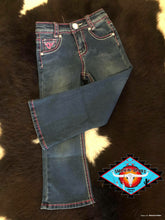 Load image into Gallery viewer, Cowgirl Hardware 'beautiful horse' jeans