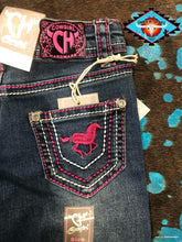Load image into Gallery viewer, Cowgirl Hardware 'horse love' toddler jean