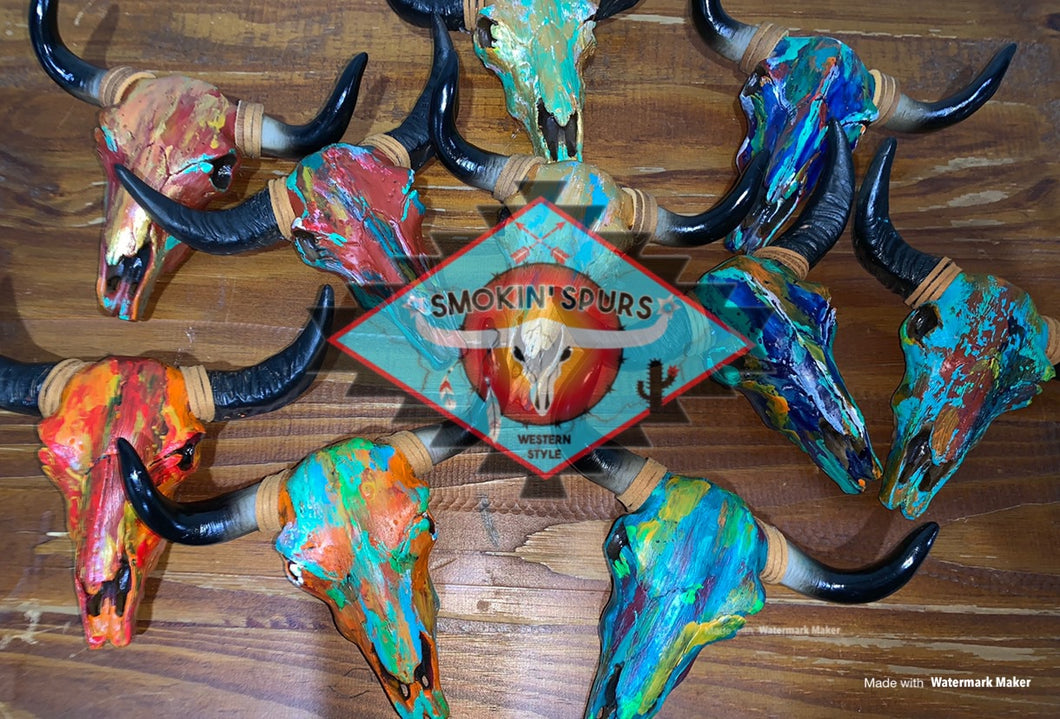 PATINA Resin Bull skull COLLECTION