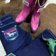 Load image into Gallery viewer, Cowgirl Hardware 'SERAPE HORSE' toddler jean