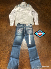 Load image into Gallery viewer, Cowgirl Hardware 'Aztec' Jean
