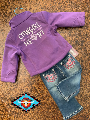 Cowgirl Hardware 'paisley' toddler jean