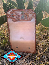 Load image into Gallery viewer, Smokin'Spurs the 'NASH's' trifold wallet 'happy trails'
