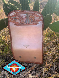 Smokin'Spurs the 'NASH's' trifold wallet 'happy trails'