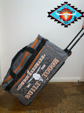 Load image into Gallery viewer, LARGE Cowboy & Cowgirl Hardware duffle roll bags!