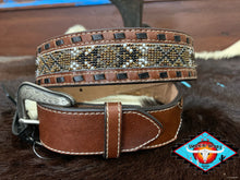 Load image into Gallery viewer, HOOEY MENS leather belt 32""