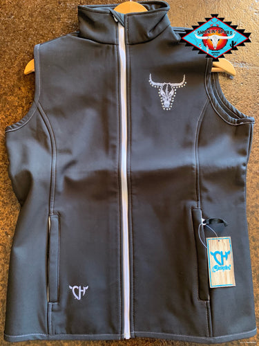 Cowgirl Hardware poly shell vest !!
