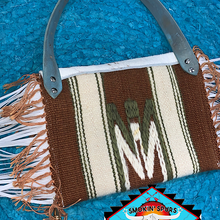 Load image into Gallery viewer, Southwestern 'SAWDUSTY' shoulder clutch