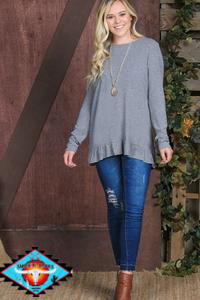 Grace & Emma long sleeve top