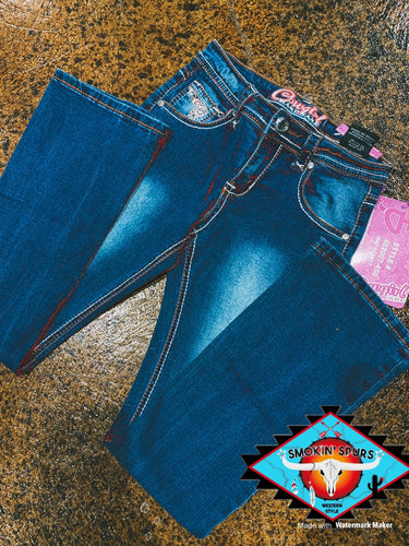 Cowgirl Hardware 'filigree' Jean LAST PAIR!!