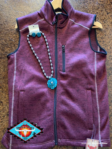 Cowgirl Hardware vest (large sizes!!)