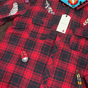 Miss Me vintage plaid shirt