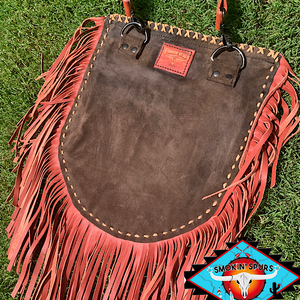 Smokin'Cactus 'Daisy Trail' Hair on leather crossbody