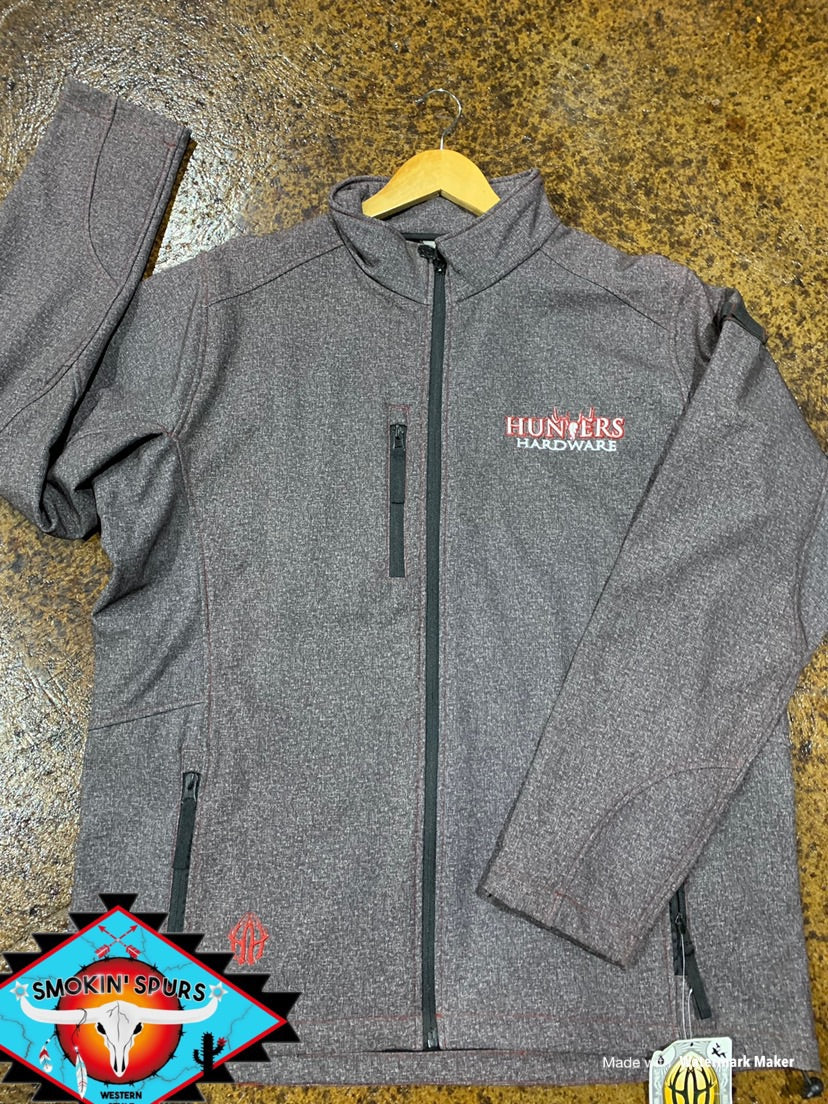 MENS Hunters Hardware polyshell jacket.
