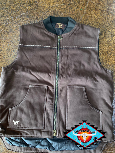 Cowboy Hardware canvas vest men's XXLarge