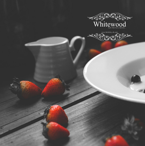 Strawberries and Cream - Greaseproof Food Serving Paper
