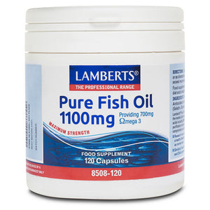 H01-8508/120 Lamberts Pure Fish Oil 1100mg*