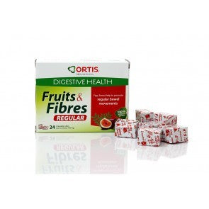 H16-CEDORT03 Ortis Fruit and Fibre Cubes 24 pack*