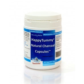 H10-1055-1 Happy Tummy Charcoal Capsules*