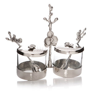 NIGELLA CONDIMENT JARS SET*