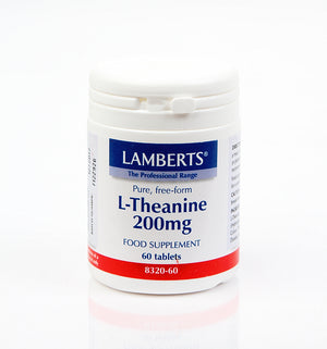 H01-8320/60 Lamberts L-Theanine 200mg*