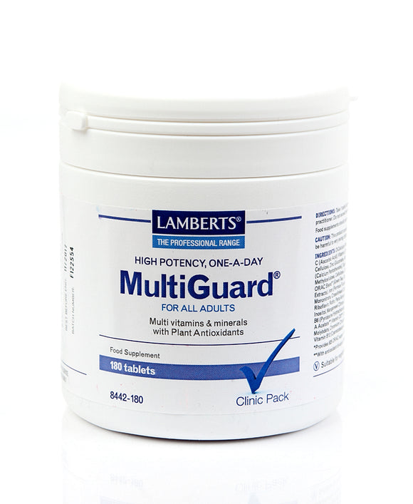 *H01-8442/180 Lamberts Multiguard (High Potency) 180Tablets
