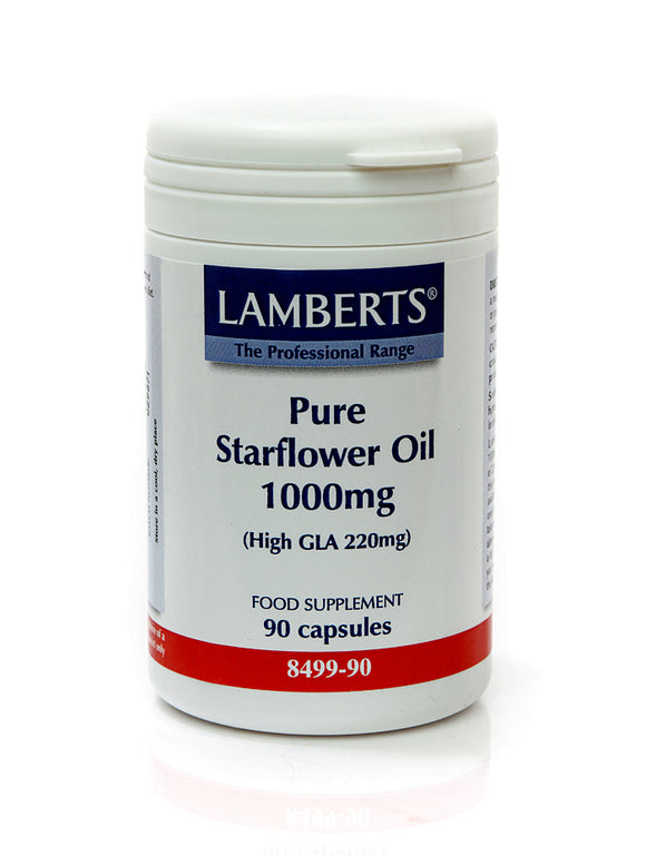 *H01-8499/90 Lamberts Pure Starflower Oil 1000mg
