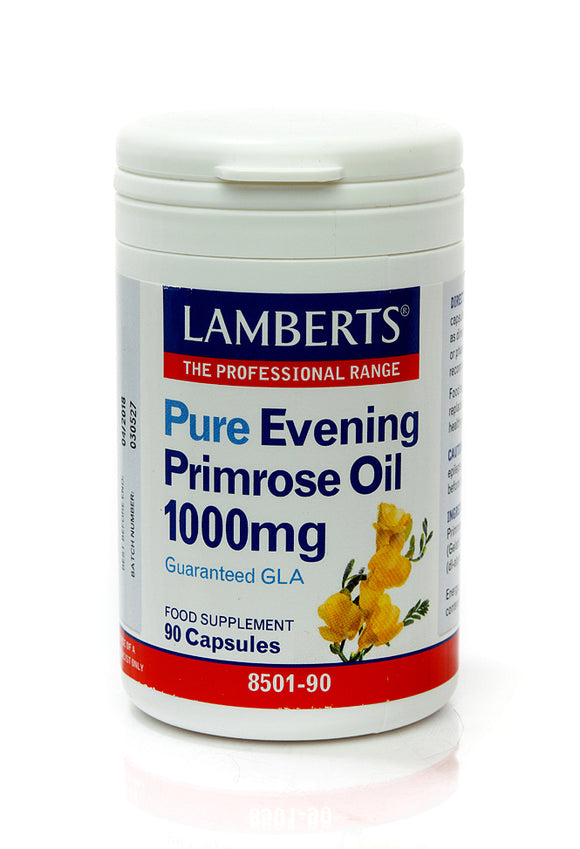 *H01-8501/90 Lamberts Pure Evening Primrose Oil 1000mg