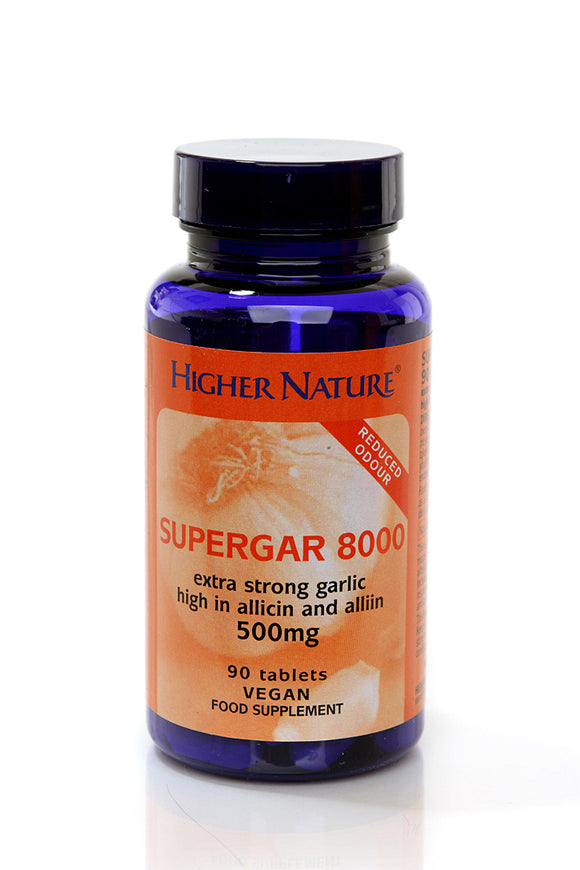 *H02-SSG090 Higher Nature Supergar Garlic