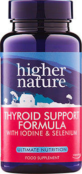 *H02-THY060 Higher Nature Thyroid Support Formula