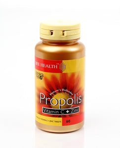 *H04-100504 Propolis Capsules with Vit C and Zinc