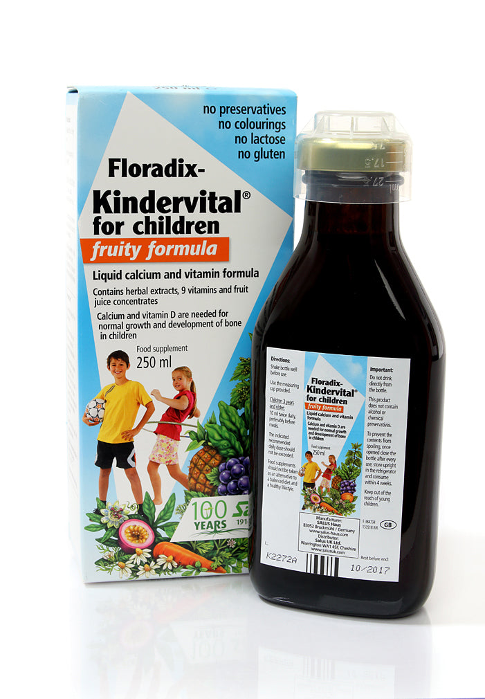 H16-SAL4734 Floradix Kindervital fruity formula 250ml*