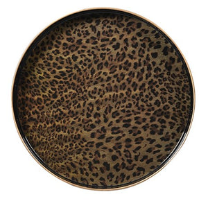 Round Leopard Tray 40mm x 350mm diameter*