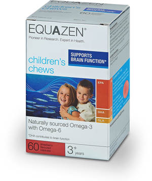 H16-EYEQ Equazen Omega 3&6 Children's Chews*