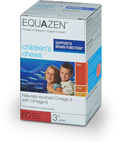 *H16-EYEQ Equazen Omega 3&6 Children's Chews